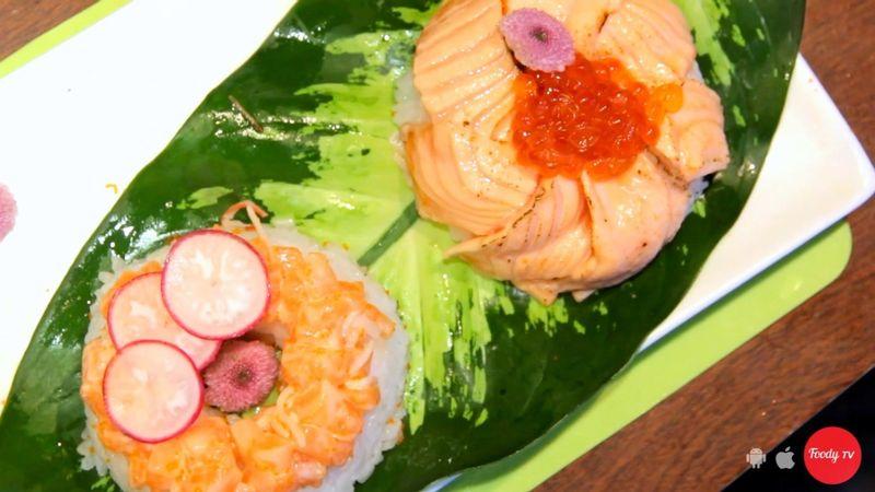 Sushi donut lần đầu tiên có mặt ở Sài Gòn